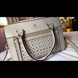 Kate Spade Perri Lane Rome Handbag Taupe